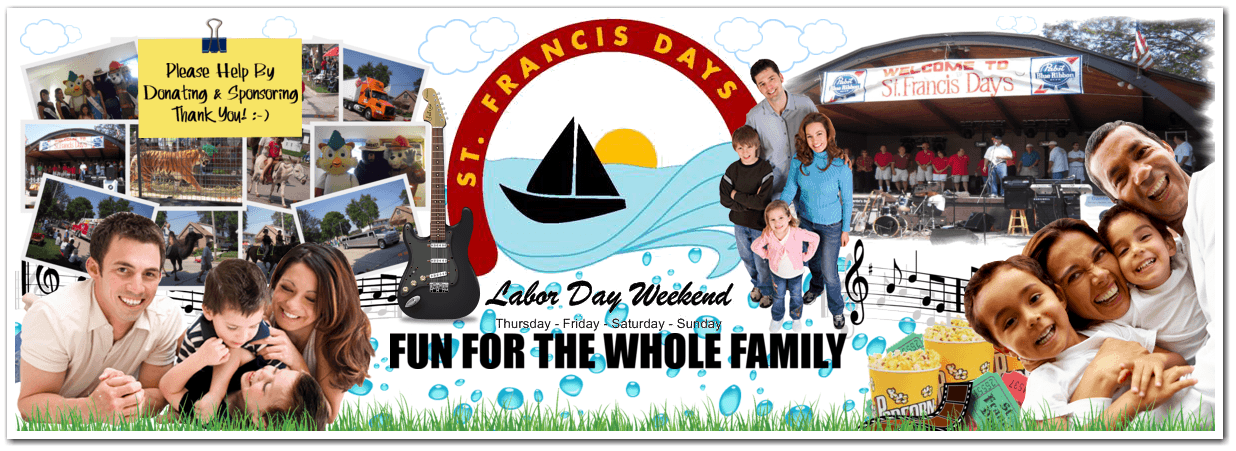St. Francis Day's Main Header
